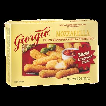 Giorgio Italian Breaded Cheese Sticks Mozzarella
