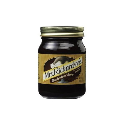 Mrs. Richardson's Chocolate Lovers Fudge Topping 16.0 OZ