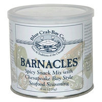 Blue Crab Bay Co. Barnacles Snack Mix, 8-Ounces (Pack of 4)