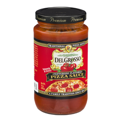 DelGrosso Traditional Pizza Sauce Pepperoni Flavored