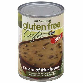 Gluten Free Cafe Health Valley  Cream of Mushroom Soup