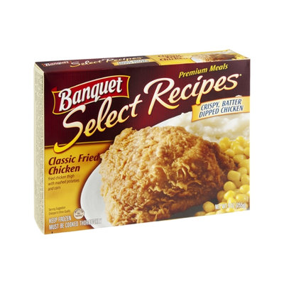 Banquet Select Recipes Premium Meals Chicken Classic Fried