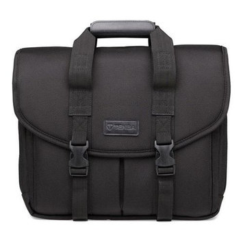 Tenba Classic P415 Original Briefcase for DSLR with 2-3 Lenses, Flash and Accessories, Black