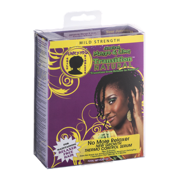 Transition Natural Funky-Fro Jamaican Mango & Lime Thermo Control Serum Mild Strength