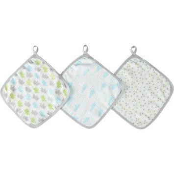 Aden & Anais Ideal Baby Gender Neutral Washcloths 3 Pack 3 Cloths