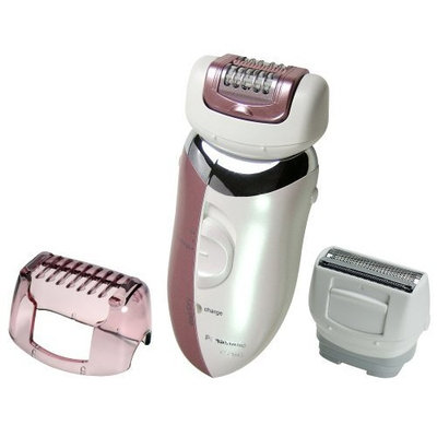 Panasonic Wet/Dry Two Speed Epilator Model: ES2045 w/Two Heads