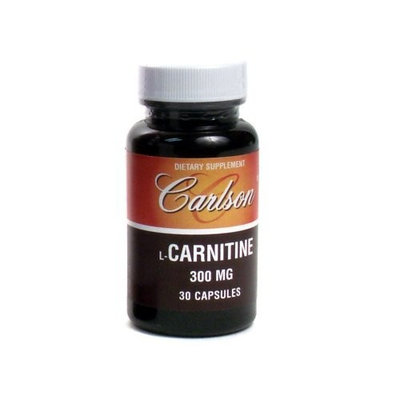 Carlson Labs Acetyl L-Carnitine, 500mg, 30 Capsules