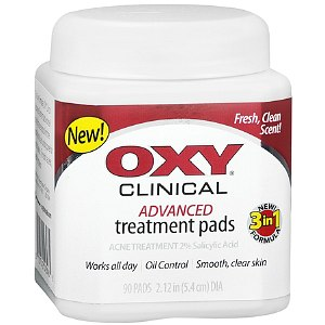 OXY Clinical Advanced Treatment Pads Acne Treatment