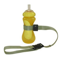 PBnJ Baby SippyPal Cup Holder, Sage (Discontinued by Manufacturer)