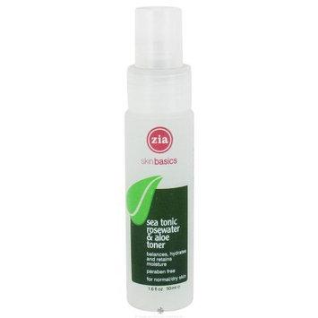 Zia Natural Skin Care Sea Tonic Rosewater and Aloe Toner 1.60 Ounces