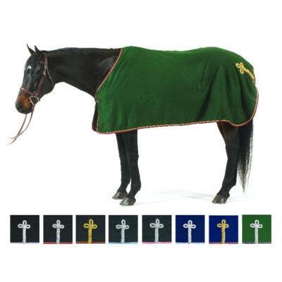 Centaur Wool Show Cooler 66 - 70 Charcoal/Silver/Lightblue