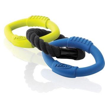 Little Gifts, Inc. NERF Dog Large Triple Ring Tug Toy