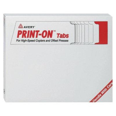 Avery 11 x 8-1/2 Xerox 5090 Copier Three-Hole Index Dividers, 5-Tab-