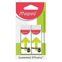 Maped Usa MAP011722 Technic 600 Refill Erasers 2Pk