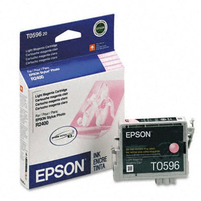 Epson T059620 Light Magenta Ink Cartridge - Stylus Photo R2400