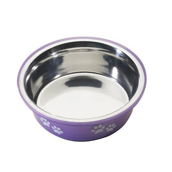 Ethical Pet Products (Spot) DSO6126 16-Ounce Fusion Designer Stainless Steel Dog Bowl, Small, Purple
