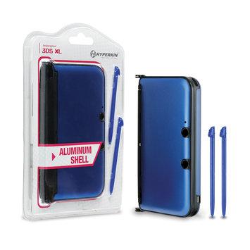 David Shaw Silverware Na Ltd M06000-BU 3DS XL Aluminum Shell with 2 Stylus Pens, Blue