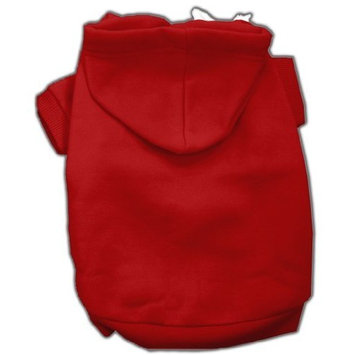 Mirage Pet Products 16-Inch Blank Hoodies, X-Large, Red