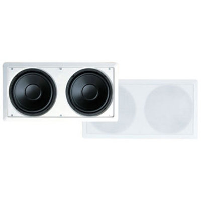 Pylehome PyleHome PDIWS28 Dual 8 in. In-Wall High Power in wall Subwoofer System