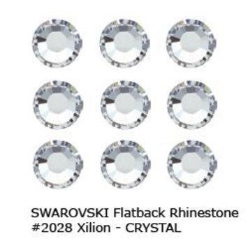 Swarovski Flatback Rhinestone #2028 Ss10 Crystal (1440pcs)