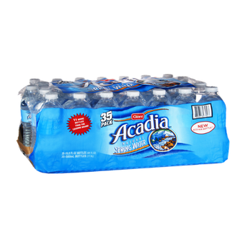 Giant Acadia Natural Spring Water- 35 PK