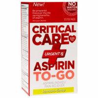 Urgentrx UrgentRx Critical Care Aspirin To-Go, Lemon-Lime, 10 ea