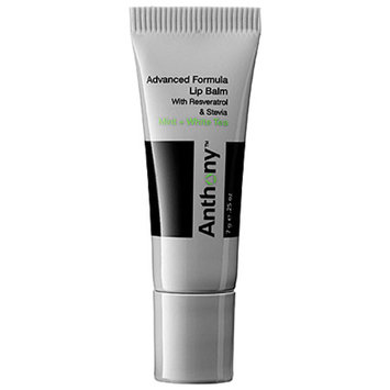 Anthony Advanced Formula Lip Balm SPF 25 Mint and White Tea 0.25 oz