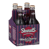 Stewart's Original Fountain Classics Black Cherry Wishniak - 4 PK