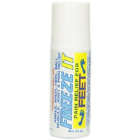 Freeze It Feet Advanced Therapy Gel, 3-Ounce