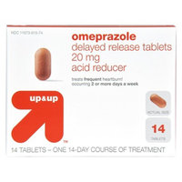 up & up up&up Omeprazole Delayed Release Acid Reducer 20 mg Tablets - 14 Count