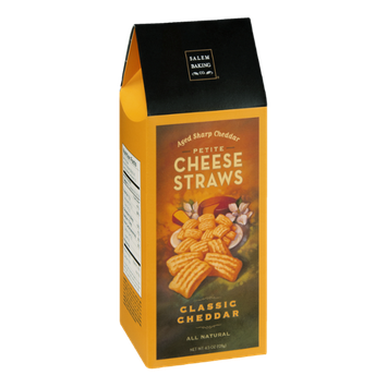 Salem Baking Co. Petite Cheese Straws Classic Cheddar