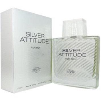 Deray Silver Attitude Men's 3.4-ounce Eau de Toilette Spray
