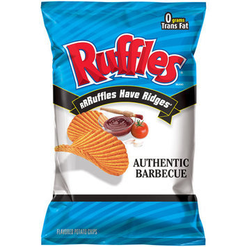 Ruffles® Authentic Barbecue Potato Chips