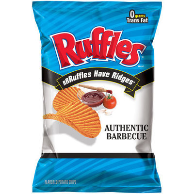 Ruffles® Potato Chips Authentic Barbecue
