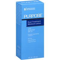 Purpose Dual Treatment Moisturizer, 4 fl oz