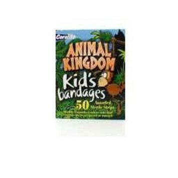 Coralite Animal Kingdom Kid's Bandages 50 Assorted Sterile Strips
