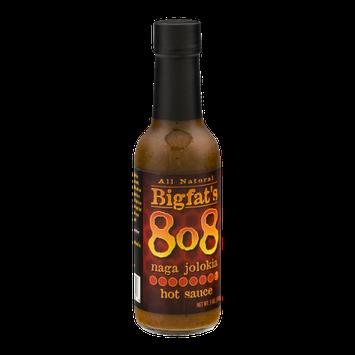 Bigfat's 808 Hot Sauce Naga Jolokia