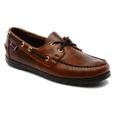 Sebago Endeavor Men's Brown Leather Boat Shoes