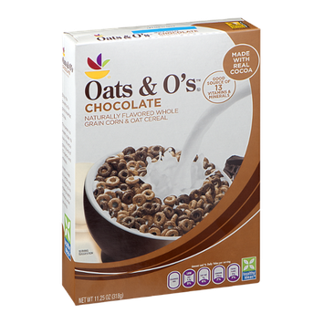 Ahold Oats & O's Chocolate Cereal