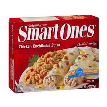 Weight Watchers Smart Ones Classic Favorites Chicken Enchiladas Suiza