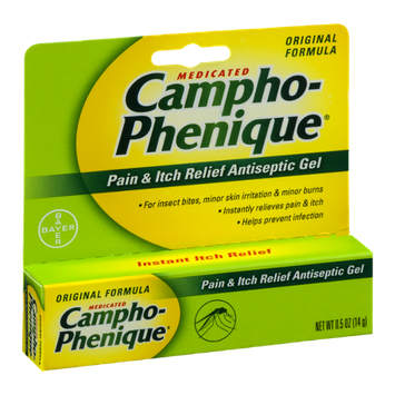 Campho-Phenique Medicated Pain & Itch Relief Antiseptic Gel