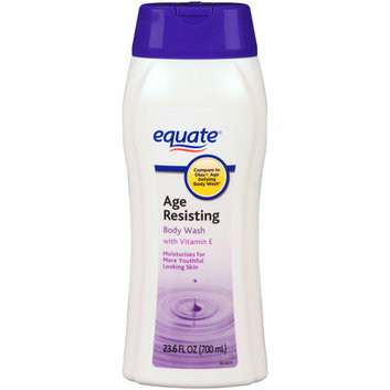 Equate Age Resisting Body Wash with Vitamin E