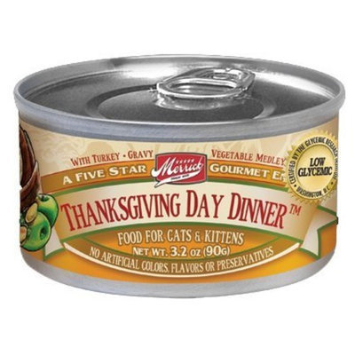 Merrick Purrfect Bistro Thanksgiving Day Dinner Canned Cat Food 24 - 5.5oz Cans