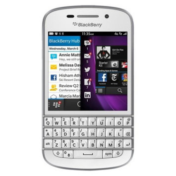 Blackberry Q10 GSM Unlocked OS 10 Cell Phone - White
