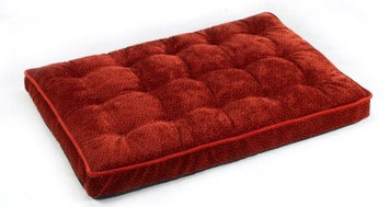 Bowsers Luxury Pet Crate Mattress Cherry Bones Microvelvet, Size: Large