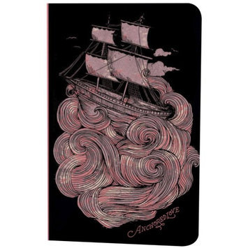 Denik Anchored Lined Notebook