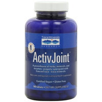 Trace Minerals Research Lifestyle ActivJoint, Bone, joint and ligament nutritional health supplement, 180 Tablets