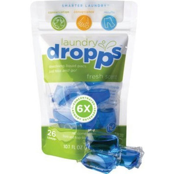 Laundry Dropps Fresh Scent 26 load Ct