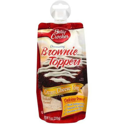 Betty Crocker Cream Cheese Decorating Browning Toppers Icing, 7 oz