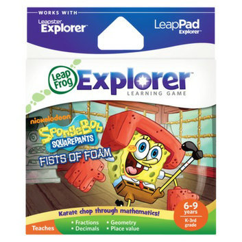 LeapFrog Explorer Learning Game - SpongeBob SquarePants Fists of Foam